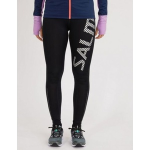 Legíny Salming Logo Tights 2.0 Women Black / Silver Reflective, Salming