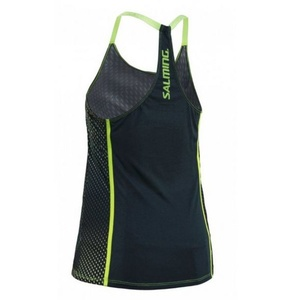 Dámske tielko Salming Breeze Tank Women Deep Teal AOP / Sharp Green, Salming