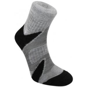 Ponožky Bridgedale Trailsport Lightweight Merino Cool Comfort Ankle silver/black/852, bridgedale