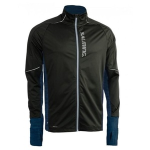 Bunda Salming Thermal Wind Jacket Men Black/Blue Melange, Salming