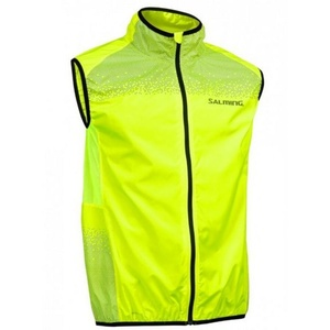 Pánska bežecká vesta Salming Skyline Vest Men Safety Yellow, Salming