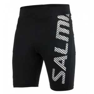 kraťasy SALMING Power Logo Tights Men Black / Silver Reflective, Salming