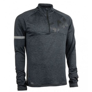 Dámska mikina Salming Phase Halfzip Men Dark Grey Melange, Salming