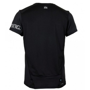 Pánske triko Salming Laser Tee Men Black, Salming