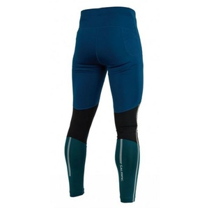Pánske legíny Salming Grand Tights Men Posiedon Blue / Black / Deep Teal, Salming