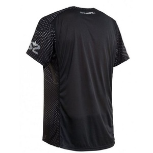 Pánske triko Salming Breeze Tee Men Black AOP / Black Melange, Salming