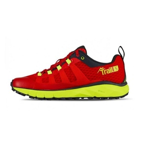 Topánky Salming Trail 5 Women Poppy Red / Safety Yellow, Salming