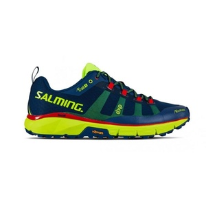 Topánky Salming Salming Trail 5 Men Poseidon Blue / Safety Yellow, Salming