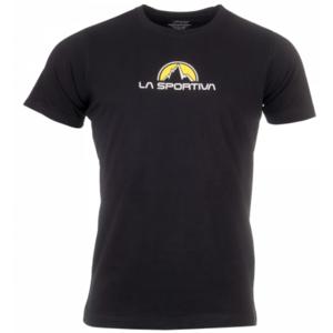 Pánske tričko La Sportiva Footstep Tee Men black, La Sportiva