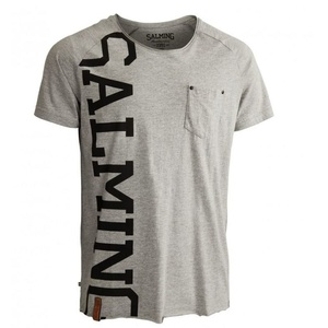Pánske triko Salming Edge Tee Grey, Salming