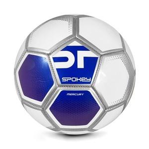 Spokey MERCURY Futbalový lopta veľ. 5 bielo-modrý, Spokey