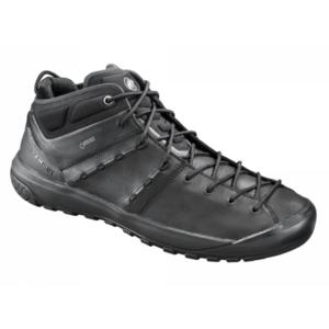 Topánky Mammut Hueco Advanced Mid GTX ® Men black-black 0052, Mammut
