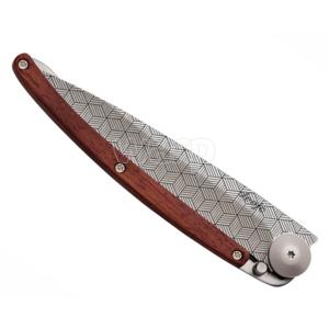Vreckový nôž Deejo 1CB042 Tattoo illusion 37g, coralwood, Deejo