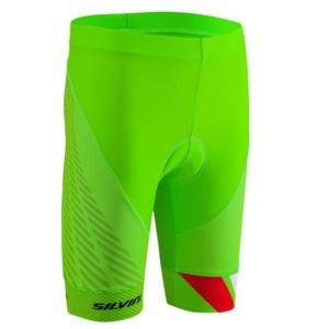 Detské cyklistické nohavice Silvini Team CP1436 green, Silvini