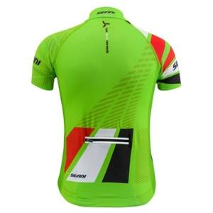 Detský cyklistický dres Silvini Team CD1435 green-red, Silvini