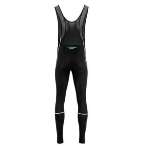 Pánske elastické nohavice Silvini MOVENZA MP1320 black green, Silvini