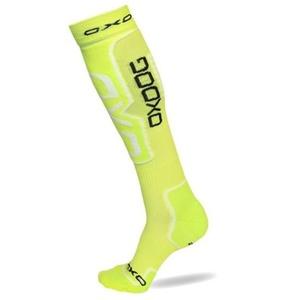 Kompresný ponožky OXDOG COMPRESS SOCKS neon yellow, Oxdog