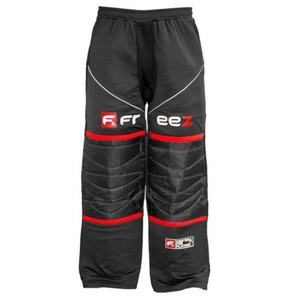 Brankárske nohavice FREEZ Z-80 GOALIE PANT BLACK/RED senior, Freez
