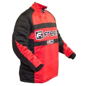 Brankársky dres FREEZ Z-80 GOALIE SHIRT BLACK/RED senior, Freez