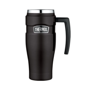 Vodotesný termohrnček s madlom Thermos Style matne čierna 160033, Thermos