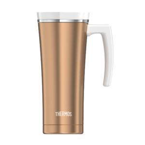 Vodotesný termohrnček s madlom Thermos Style ružovozlatá 160052, Thermos