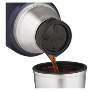 Termoska na nápoje s madlom Thermos Style matne čierna 170022, Thermos