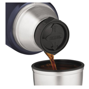 Termoska na nápoje s madlom Thermos Style matne červená 170021, Thermos