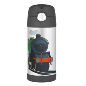 Detská termoska s slamkou Thermos Funtainer vlak, Thermos