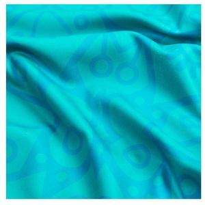 Spokey MANDALA rýchloschnúci plážová uterák tyrkysový 80x160cm, Spokey
