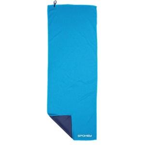 Chladiace rýchloschnúci uterák Spokey COOLER 31x84 cm, zelenýmodrý v plastic bag, Spokey