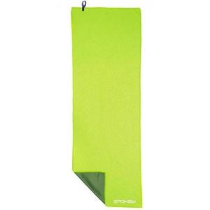 Chladiace rýchloschnúci uterák Spokey COOLER 31x84 cm, zelený, Spokey