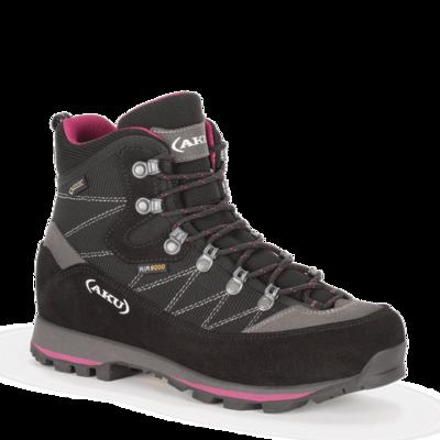 Dámske topánky AKU Trekker Lite III GTX čierno / purpurová, AKU