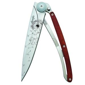 Vreckový nôž Deejo 1CB057 Tattoo 37g, ebony wood, Make a wish, Deejo