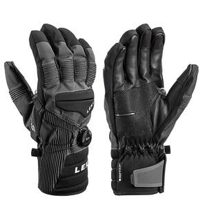 Rukavice LEKI Progressive Tune S Boa ® mf touch (643881303) charcoal / black, Leki