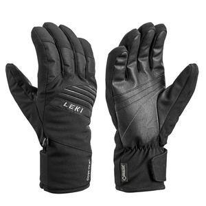 Rukavice LEKI Space GTX (643861304) black / lime, Leki