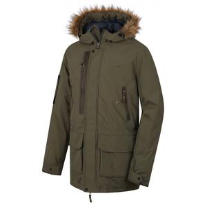 Pánsky kabát Husky Nelidas M tm. khaki, Husky