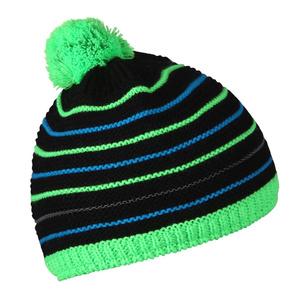 Detská čiapka Husky Cap 34 čierna / neon zelená, Husky