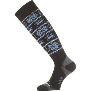 Ponožky Lasting SSW 905 čierne, Lasting