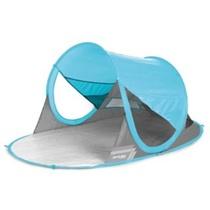 Spokey STRATUS Samorozkládací plážová paravan UV 40 190x120x90cm svetlo modrý, Spokey