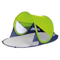 Samorozkládací plážová paravan Spokey STRATUS UV 40 190x120x90 cm limetovej, Spokey