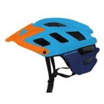 Cyklistická prilba pre dospelých Spokey SINGLETRAIL modrá, Spokey