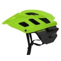 Cyklistická prilba pre dospelých Spokey SINGLETRAIL zelená, Spokey