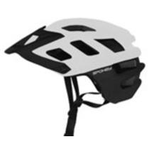 Cyklistická prilba pre dospelých Spokey SINGLETRAIL biela, Spokey