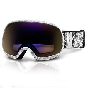 Spokey PARK lyžiarske okuliare šedo-bielej, Spokey