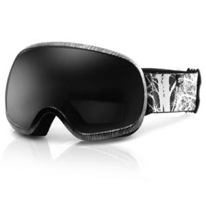 Spokey PARK lyžiarske okuliare čierno-biele, Spokey