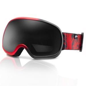 Spokey PARK lyžiarske okuliare čierno-červené, Spokey