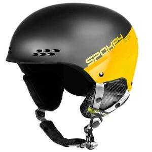 Lyžiarska prilba Spokey APEX čierno-žltá veľ. L/XL