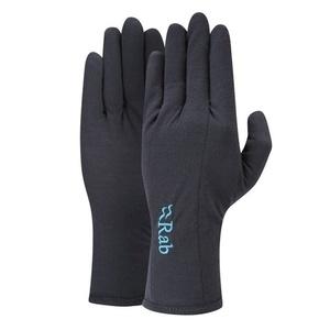 Rukavice Rab Merino+ 160 Glove Women's ebony, Rab