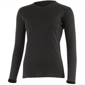 Dámske vlnené triko Lasting BELA 9090 čierne