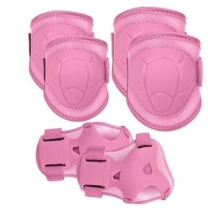 Sada detských chráničov Spokey BUFFRE ružové, Spokey